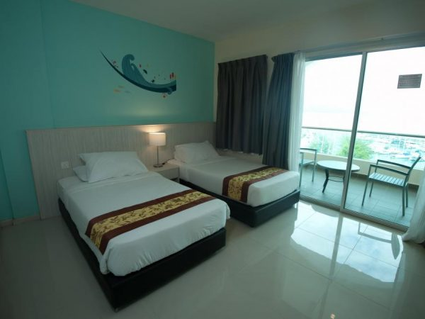 D'Ocean 1 Bedroom 2 Single