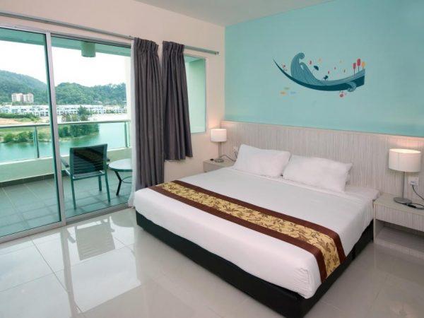 D'Ocean Bedroom
